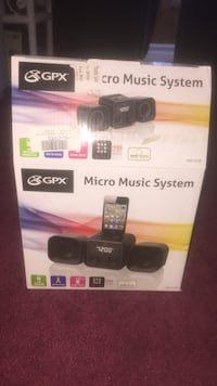 two black GPS micro music system boxes Mississauga, L5N 5E3