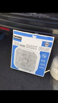 "20"" Holmes box fan box Morgan Hill, 95037"
