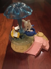 Calico Critters babies merry go round