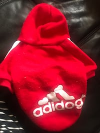 ADIDOG hoodie for small puppy  Coquitlam, V3K 5K8