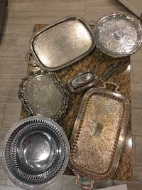 Silver Serving Platers  Wesley Chapel, 33545