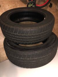 Two tires 215/55/r 16 Rochester, 03867