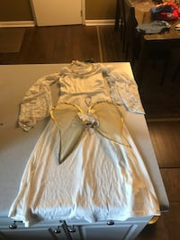 White long-sleeved dress (angel costume) Decatur, 35603