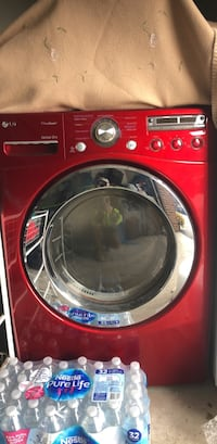 red front-load clothes washer Kearny, 07032