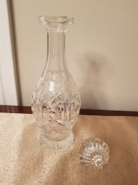Lismore Decanter Waterford Crystal Vaughan