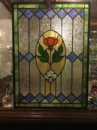 Stained Glass Panel, 18x25 1/2, $360 LANCASTER