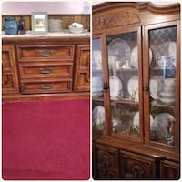 Dining room buffet and china closet with matching  Philadelphia, 19135