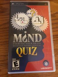 Mind Quiz Sony PSP PlayStation game Toronto, M1S 1V9