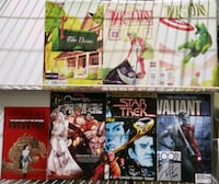 Comics! Aliens, Star Trek #1, Vision, X-Men