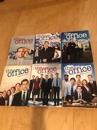 The office boxes DVD set