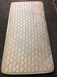 Quilted floral mattress