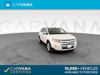 2012 Ford Edge suv Limited Sport Utility 4D White