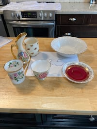 6 pieces tableware Mississauga, L5N 7H7