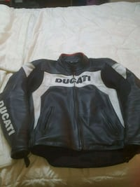 Ducati leather motorcycle jacket Laval, H7K 1H1