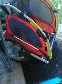 red and black bicycle trailer Aiken, 29801