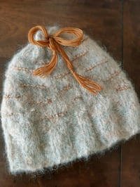 Hand Knit Toque wool with cashmere lining.  Dufresne, R0A 0J0