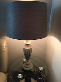 Table lamp- light green and gold Toronto, M6N 5G8