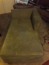 Green suede sofa day bed/couch Tucson, 85712