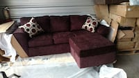 Signature Design Chaise Couch by Ashley Furniture Little River, 29566