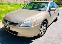 """ Slightly Negotiable ' 2003 Honda Accord sunroof Leather Cold Ac Clean title Beltsville"