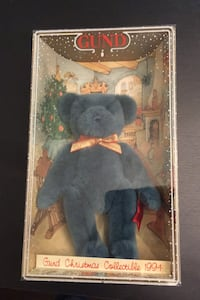 Gund Bear-Christmas collection 1994