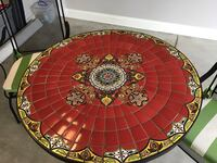Beautiful tile table and springback chairs with cu Johnson City, 37604