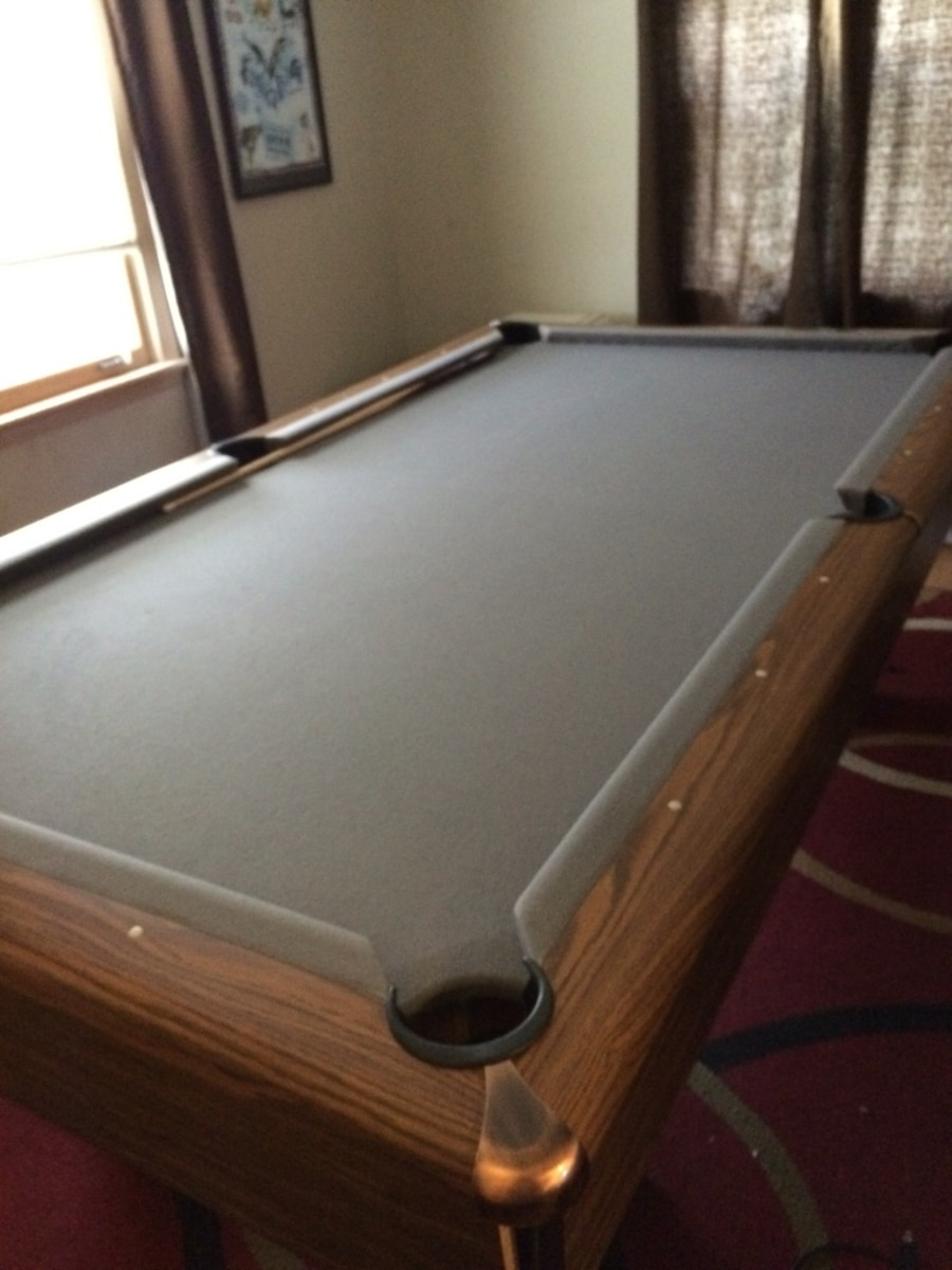 black white hawk finish used olhausen wash robbies billiards blackhawk tables pool products table
