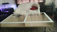 Glass and wood coffee table Langley, V2Z 1M5