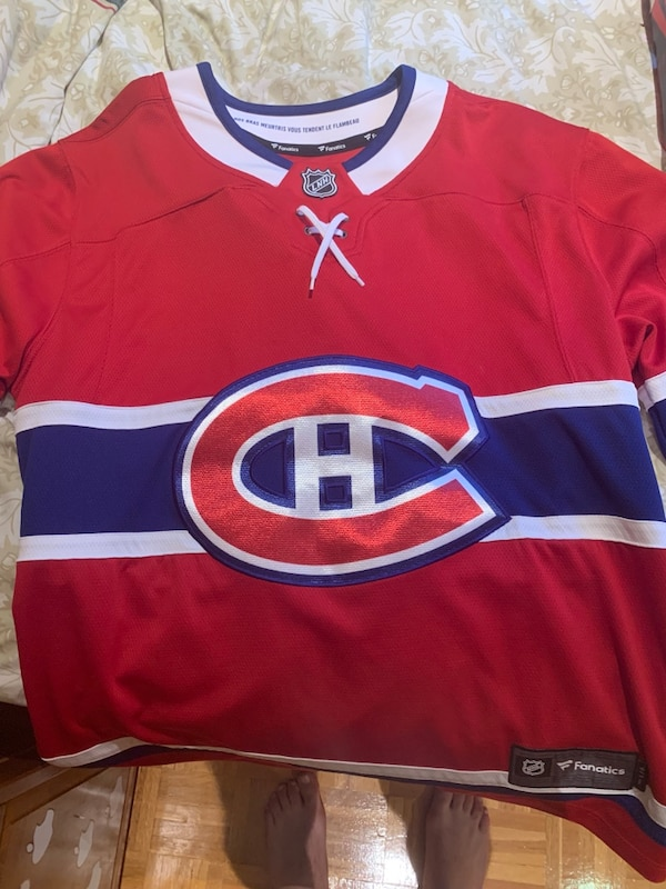 Canadiens jersey