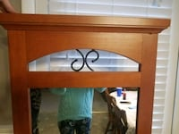 Full size Mirror with decorative iron piece at the top  22W x 64L Hagerstown, 21740