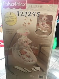 Pink Fisher-Price cradle n swing  Calgary, T3E 6X3