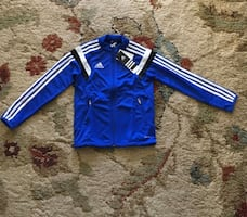 Adidas Youth XS Zip Up Sports Wear