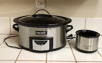 "6 qt Stainless Steel CrockPot with ""Little Dipper"" Bakersfield, 93308"