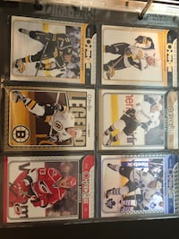 six hockey cards with more nba and mlb cards ( price can be discuss ) Vancouver, V6R 2P2