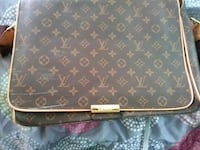 black and brown leather Louis Vuitton bag South Bend, 46615