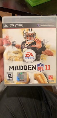 Madden 11 (PS3) Washington, 20016