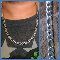 26in Figaro chain. Made of stainless steel Glen Burnie, 21061