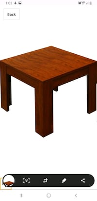 Brand new end tables set of 2 Buckeye