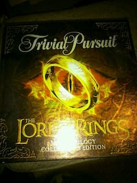 Trivial pursuit lord of the rings  London, N5W 2Y8