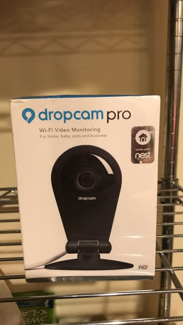 3cd504b4b80 Used Dropcam pro wi-fi video monitoring box for sale in Los Angeles - letgo