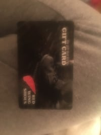 $75 gift card to redwing shoes Baltimore, 21234