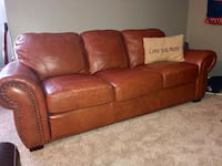 Leather sofa and chair/ottoman Winter Garden, 34787