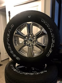 2019 F-150 Chrome Wheels and Tires Calgary, T2X 0S5