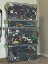 80+ lbs of LEGO sets (unsorted, all manuals)