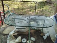 """64"""" Wrought Iron Table"""