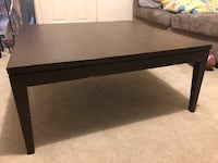Brown wooden coffee table  King City