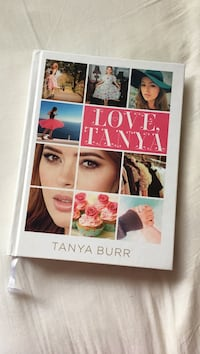 Love, Tanya hardcover book by Tanya Burr Montréal, H8Y