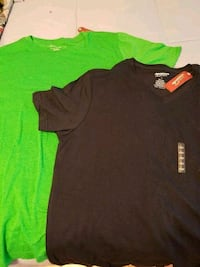 black and green crew neck shirt Inverness, 34452