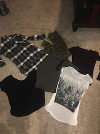 Clothing lot size small.  Airdrie