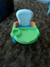 baby's blue and green floor seat Clovis, 93612